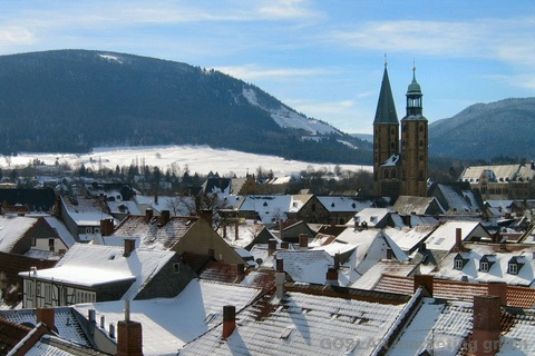 Goslar im Winter